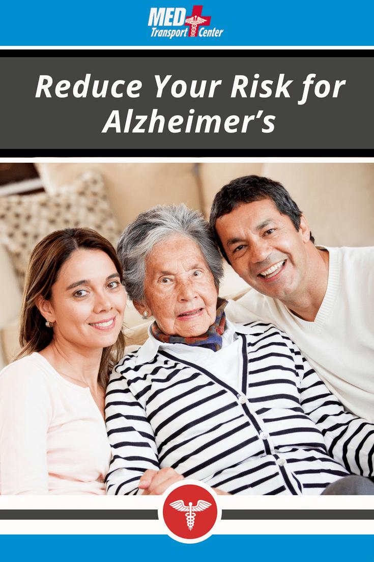 Reduce Your Risk for Alzheimer's
