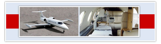 Learjet Air Ambulance