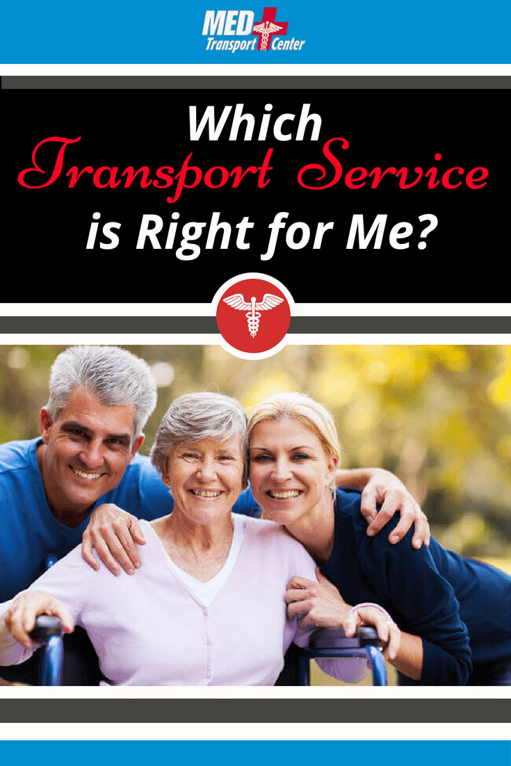 which transport service is right for me?