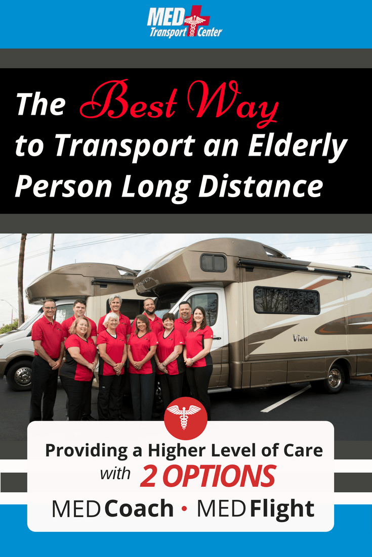The Best Way to Transport Elderly Long Distance